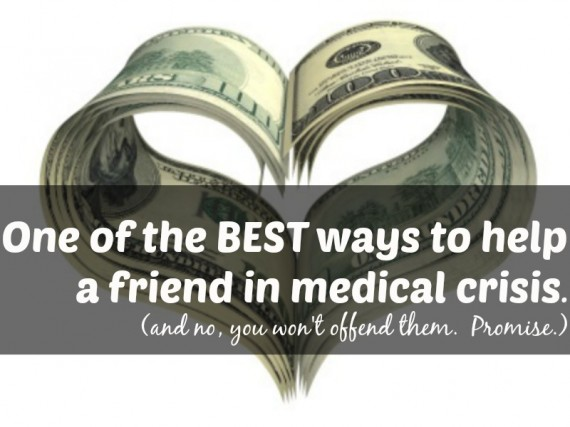 helping friend in medical crisis