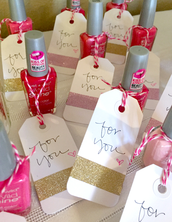 Pink and Gold Baby Shower | Life Rearranged